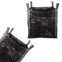 BLACK Tonne Builders Garden Waste Jumbo Storage Sacks/ Bags 85x85x85 CM
